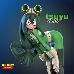 Tsuyu_3d_thumbnail.jpg Download STL file Tsuyu Asui • 3D printable design, nlsinh