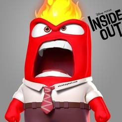 Anger_thumbnail.jpg Download STL file Anger - Inside Out Fanart • 3D printer design, nlsinh