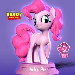 Pinkie_Pie.jpg Télécharger fichier STL Pinkie Pie - Petit Poney • Objet pour impression 3D, nlsinh