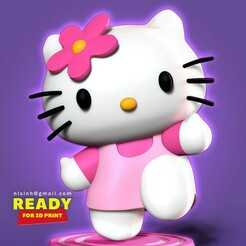 HelloKitty_thumb.jpg Download STL file Hello Kitty • 3D print design, nlsinh