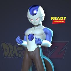 Thumbnail.jpg Télécharger fichier STL Frost - Dragon Ball Z • Plan à imprimer en 3D, nlsinh