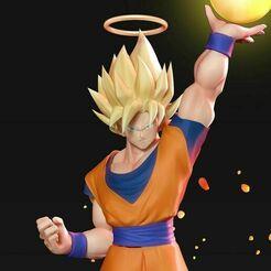 goku-super-saiyan-3d-model-obj-stl-ztl.jpg Télécharger fichier STL Goku Super Saiyan • Plan imprimable en 3D, nlsinh