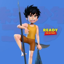 Conan_boy_thumbnail.jpg Download STL file Conan - The boy in future • 3D printer model, nlsinh