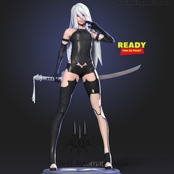 2A_thumbnail.jpg Download STL file Yorha A2 • 3D printing model, nlsinh