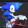 Download 3D printing models Sonic the Hedgehog, nlsinh