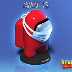 Among_Us.jpg Télécharger fichier STL Parmi nous • Objet imprimable en 3D, nlsinh