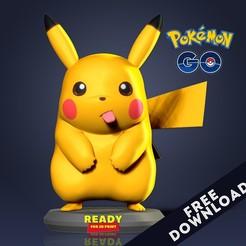Pikachu_3D.jpg Télécharger fichier STL gratuit Pikachu Fanart • Modèle pour imprimante 3D, nlsinh