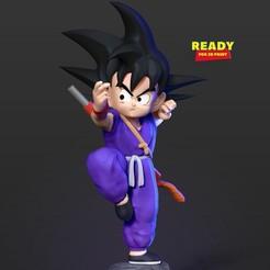Goku_Teen_thumbnail.jpg Télécharger fichier STL Teen Goku • Modèle imprimable en 3D, nlsinh