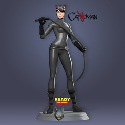 Download 3D printing templates Stylized catwoman, nlsinh