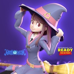 Akko_thumbnail1.jpg Download STL file Akko - Little Witch • Model to 3D print, nlsinh