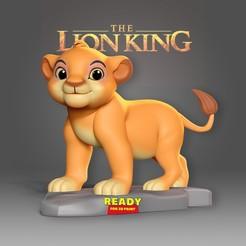 Download 3D printer files Young Simba, nlsinh