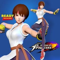 Download STL Yuri Sakazaki - King of Fighters Fanart, nlsinh