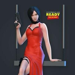 Adawong_thumb.jpg Download STL file Ada Wong • 3D print design, nlsinh