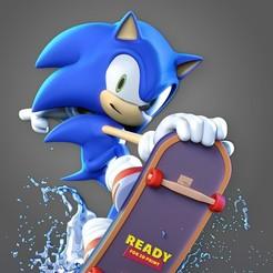 thumbnail.jpg Download STL file Sonic the Hedgehog • 3D printable design, nlsinh