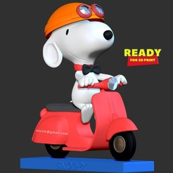Download 3D model Snoopy dog, nlsinh
