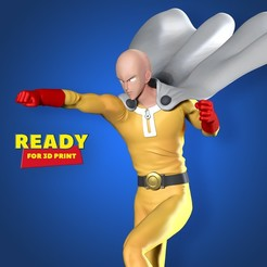 Download 3D printing designs One-Punch Man, nlsinh