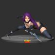 Download 3D printing models Psylocke Fanart, nlsinh