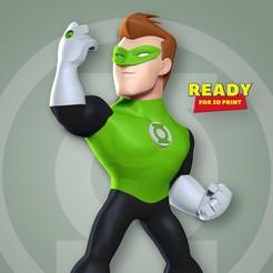 Green_thumbnail.jpg Download STL file Green Lantern Fanart • Design to 3D print, nlsinh