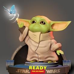 BabyYoda_cg.jpg Download STL file Baby Yoda - Star Wars • 3D print object, nlsinh
