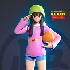 Mai_thumbnail.jpg Download STL file Mai Future - Dragon Ball Fanart • 3D print design, nlsinh