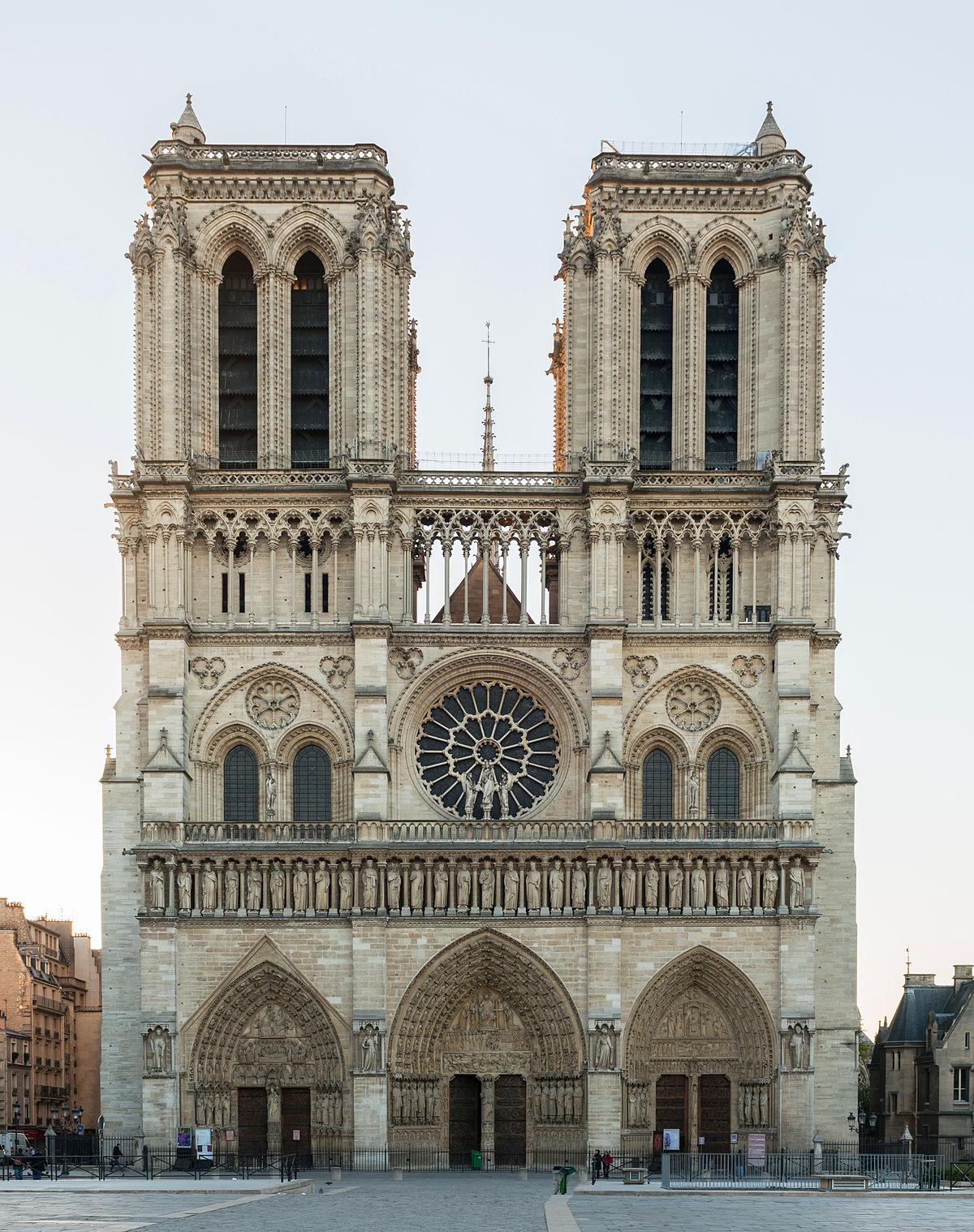 Cathédrale_Notre-Dame_de_Paris,_20_March_2014.jpg Download free STL file our lady of paris • 3D print model, ptithdvideo