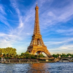 Download free 3D model Eiffel Tower, ptithdvideo