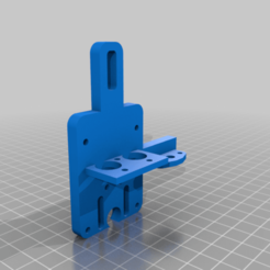 Chimera_A10M_Mount.png Download free STL file Geeetech A10M Chimera (Clone) mount with BLTouch holder • Template to 3D print, makotosan