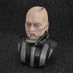 Download 3D printing designs Darth Vader open helmet HEAD Scale 1-3 18cm 3D print model, did3d