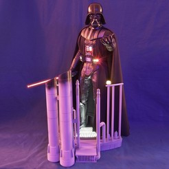 Download STL file Darth Vader HQ The Empire Strikes Back 1-3 SCALE 70cm 3D print, did3d