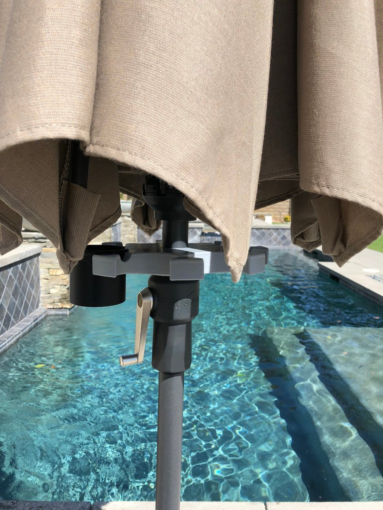 b93ac58790b2691b736259271f5e5ee2_display_large.jpg Télécharger fichier STL gratuit Chariot de parapluie de patio • Objet pour impression 3D, jps4you