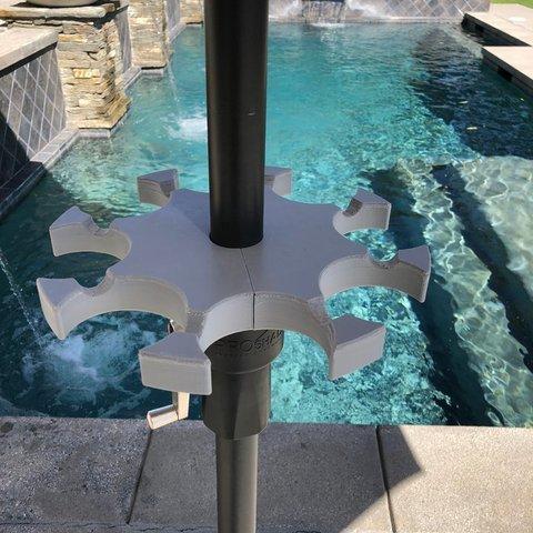 abf8616f1c171996d2933684edda3cc3_display_large.jpg Télécharger fichier STL gratuit Chariot de parapluie de patio • Objet pour impression 3D, jps4you