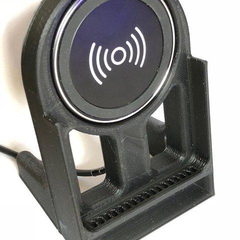 Télécharger objet 3D gratuit Support d'ampli passif Anker Qi pour téléphone portable, jps4you