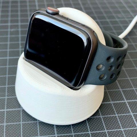 6a340566a751cb5ad17bcdf40c80f32e_display_large.jpeg Télécharger fichier STL gratuit Quai de chargement pour montre Apple • Design pour impression 3D, Markus_p