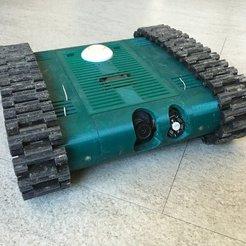 Free 3D print files FPV-Rover (Tank), Markus_p