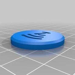 NFC Tag.jpg Download free STL file NFC Tag • 3D printer template, 3DDDPrinting
