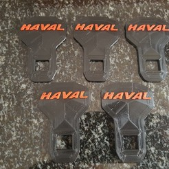 Haval Seatbelt.jpg Download STL file Haval Seatbelt Buckle • Template to 3D print, 3DDDPrinting