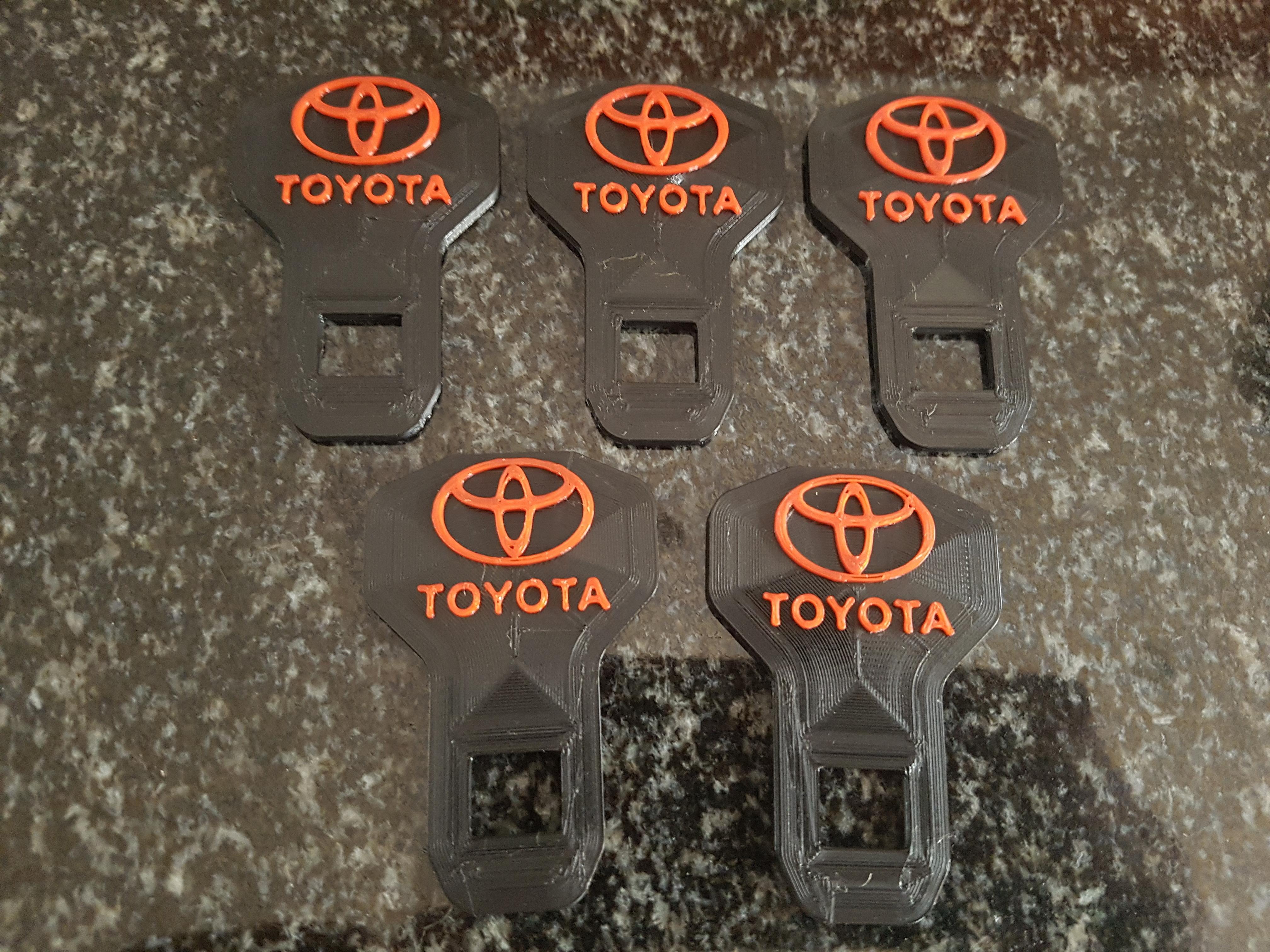 Hebilla De Seguridad Toyota Cinturón de Seguridad de la clave de la lengua para detener alarma Cinturón de Calidad Superior