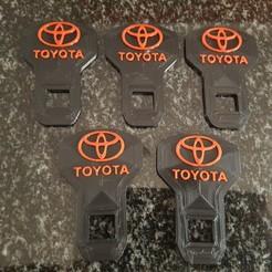 Toyota Seatbelt.jpg Download STL file Toyota Seatbelt Buckle • 3D printing model, 3DDDPrinting