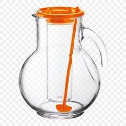 pitcher jug lid glass bormioli rocco.jpg Descargar archivo STL Tapa de jarra de cristal • Plan imprimible en 3D, 3DDDPrinting