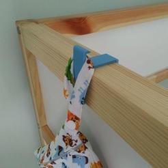 Download 3D print files Ikea Kura bunk hook, AlexLarra88
