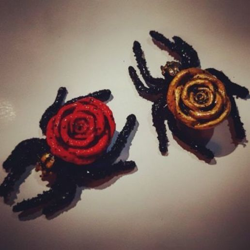 Download 3D printing templates Spider Rose , 3dpropsandreplicas