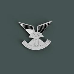 Download STL Selous Scouts Badge, 3dpropsandreplicas