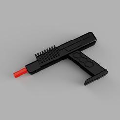 Télécharger plan imprimante 3D Pistolet Cylon BattleStar Gallactica, 3dpropsandreplicas