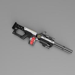 Télécharger objet 3D L'ouragan Hammer à la suite d'un tir d'assaut, 3dpropsandreplicas