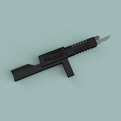 Télécharger modèle 3D Fusil cylon BattleStar Gallactica, 3dpropsandreplicas