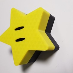 20200514_082522.jpg Download free STL file Mario Star Box • 3D print object, ourumov42