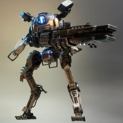 Download free 3D print files Titanfall Northstar, Z-mech