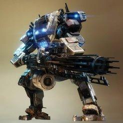 Descargar modelo 3D gratis Legión Titanfall, Z-mech