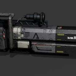 Descargar Modelos 3D para imprimir gratis Titanfall Northstar Plasma Railgun, Z-mech
