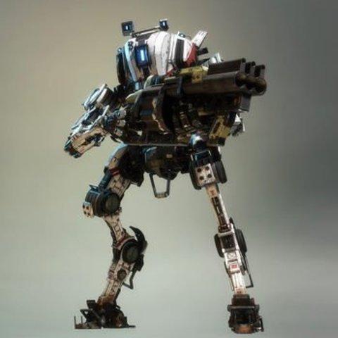 Télécharger objet 3D gratuit Titanfall Ronin, Z-mech
